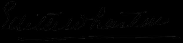 EdithWhartonSignature