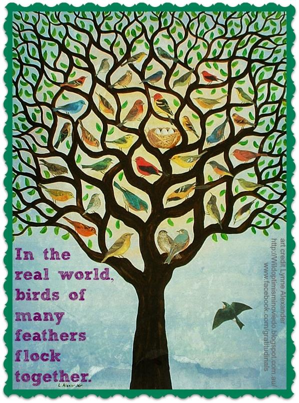 Birds of Many Feathers Tree
