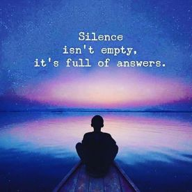 Silence Is Not Empty