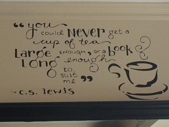 cs lewis cup of tea quote