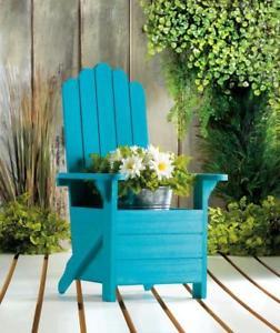 turquoise adirondack chair