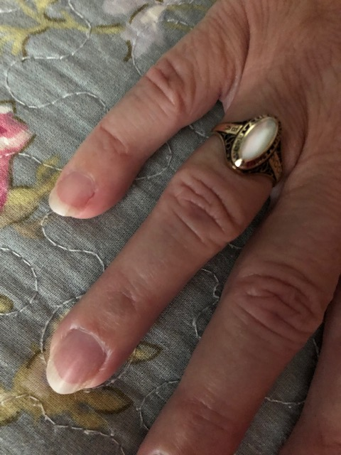 Mother of Pearl Class Ring