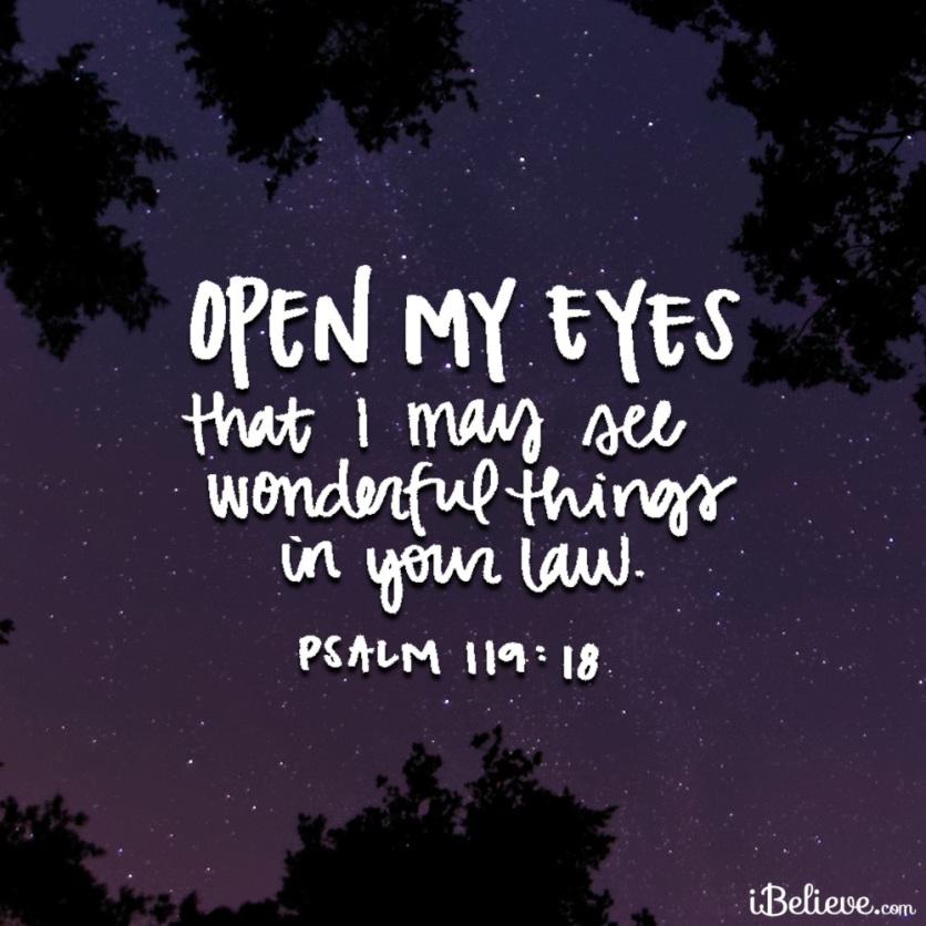 Psalms 119v18